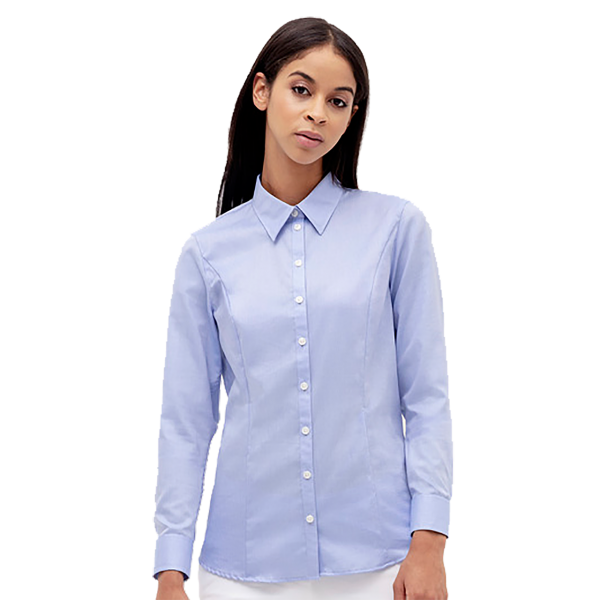 Bluse 1/1-Arm Oxford H118