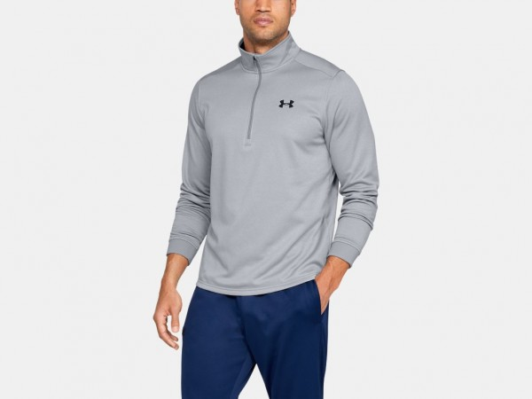 Under Armour Langarm Sweatjacke mit 1/2 Zip (Fleece)