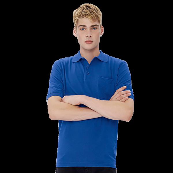 Herren Pocket-Poloshirt Performance H812