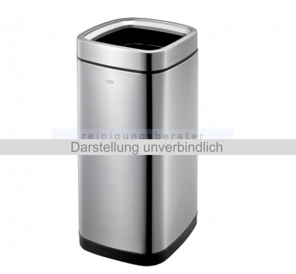 Mülleimer Edelstahl 35 L