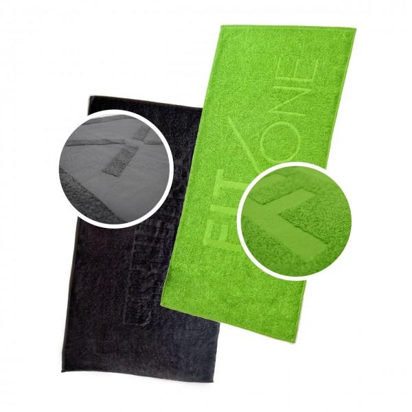 Handtuch mit Hoch-/Tief-Webung