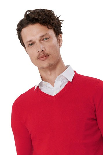 V-Pullover Premium-Cotton H143