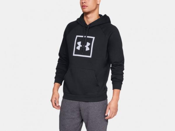 Herren UA Rival Fleece Logo Hoodie