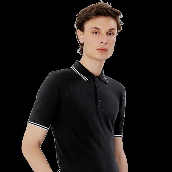 Herren Poloshirt Twin-Stripe H805