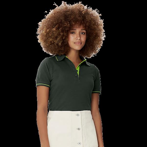 Damen-Poloshirt Casual H203