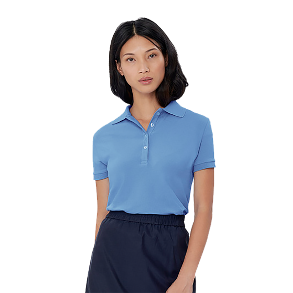 Damen-Poloshirt Stretch H222