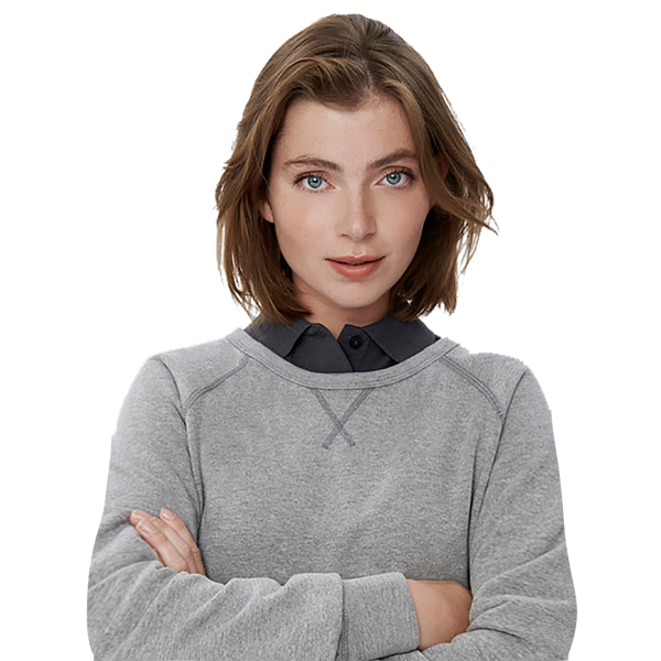 Damen-Raglan-Sweatshirt H407