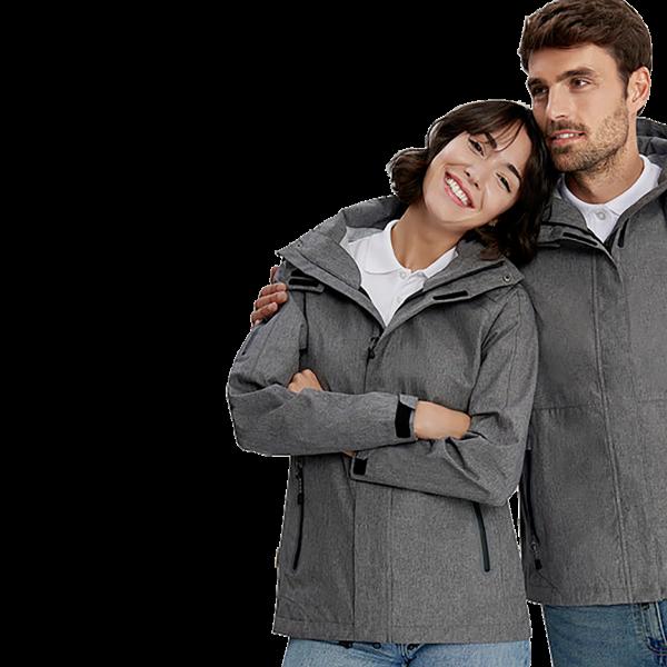 Damen-Active-Jacke Fernie mit HAKRO-ZIP-IN-SYSTEM H250