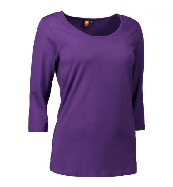 Damen Stretch T-Shirt 3/4-Arm ID0591