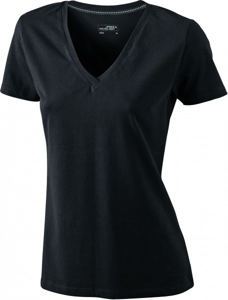 Ladies Stretch V-Shirt JN928