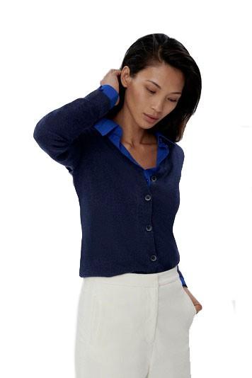 Damen-Cardigan Merino Wool H140